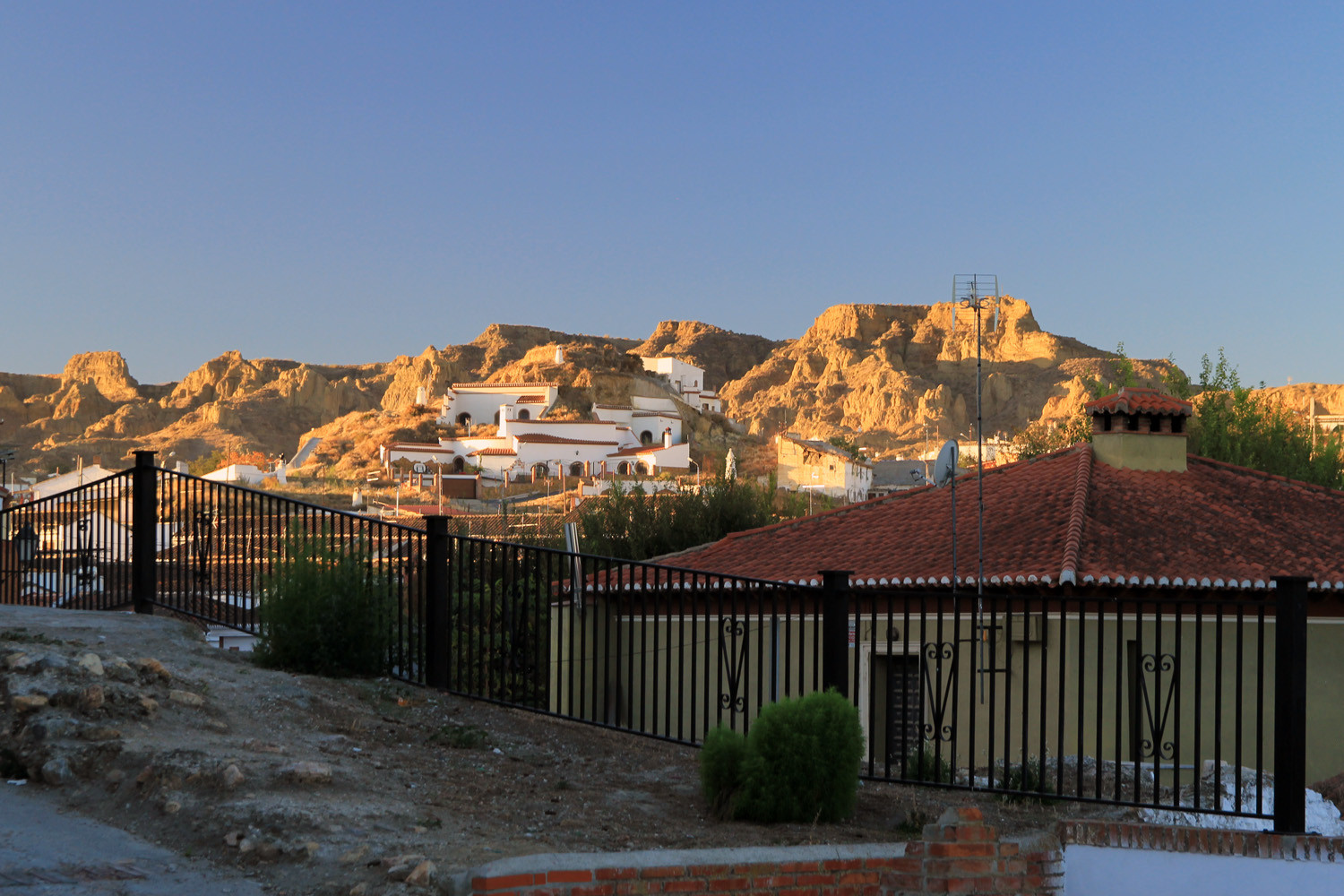 The Cave District of Guadix