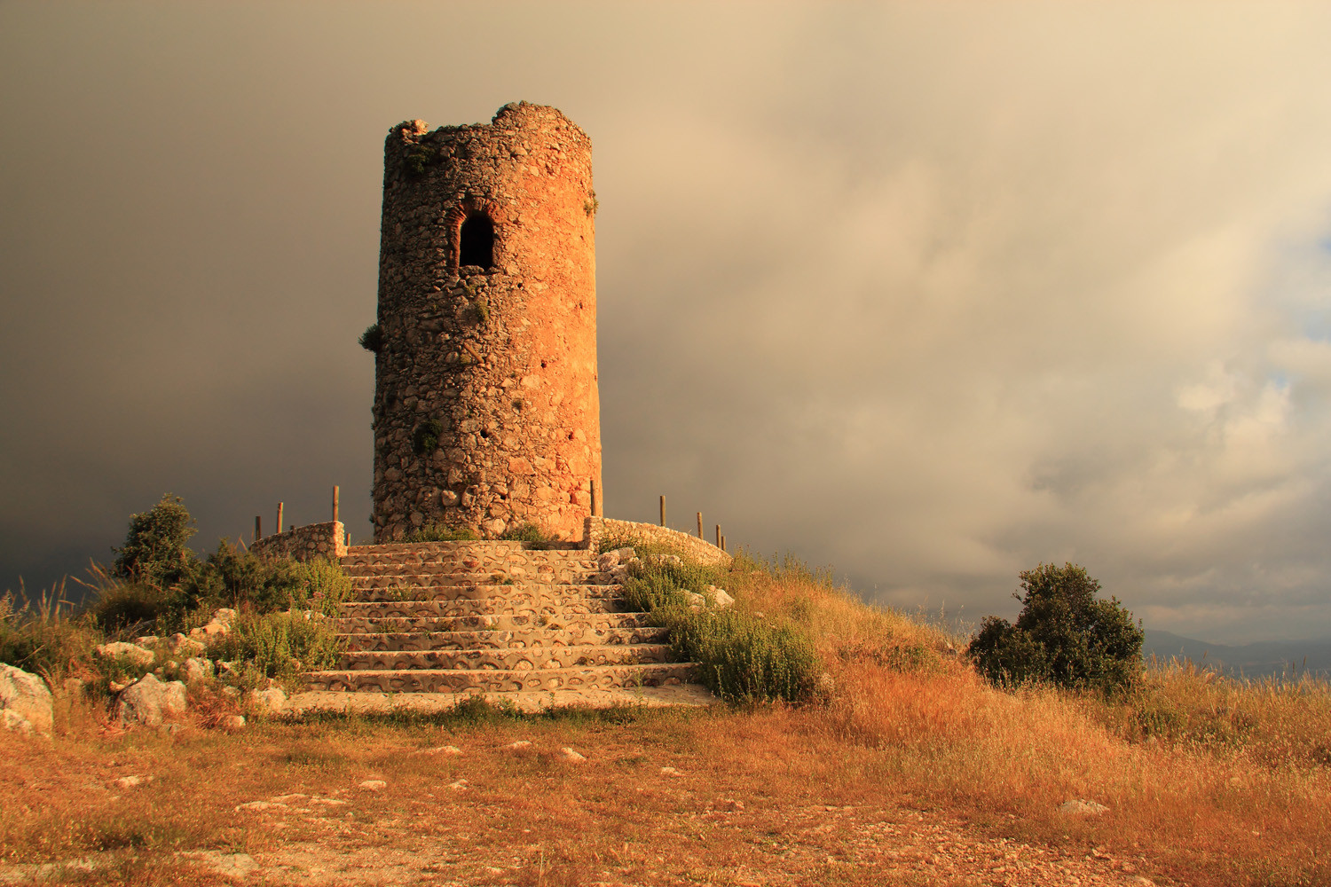 The Arabic Watch Tower in Deifontes