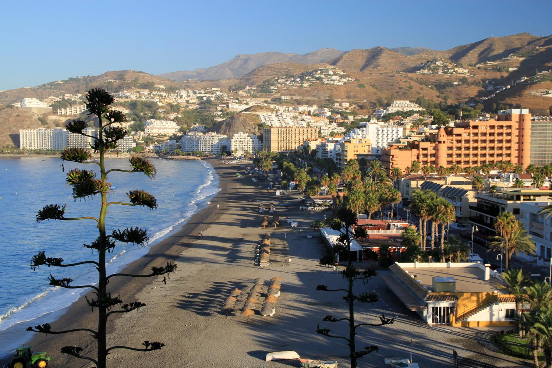 Playa de San Cristobal - Almuñecar