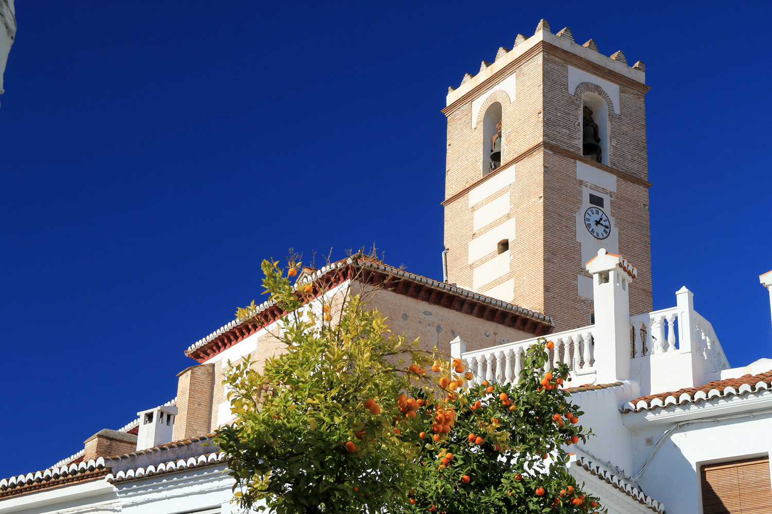 The Church of Salobreña