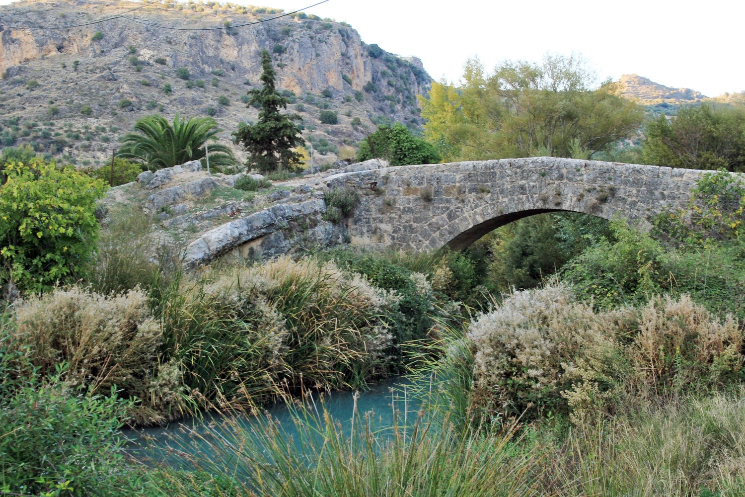 The Roman Bridge in Colomera