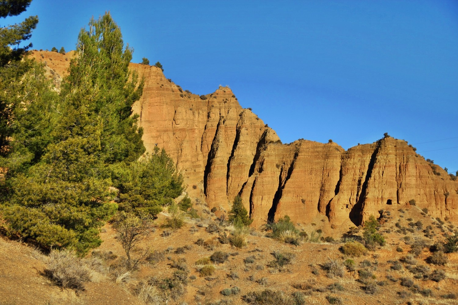 The Rock Formations of Marchal