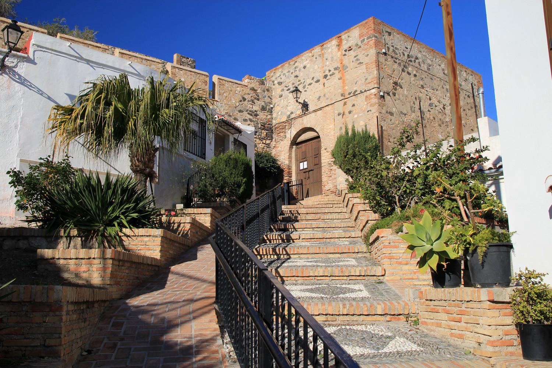 The Castle of Salobreña