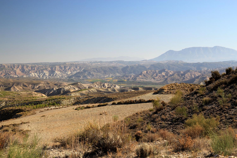 Landscape near Alamedilla