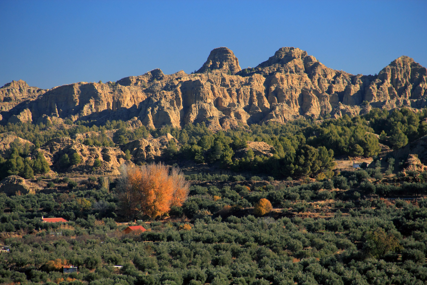 Rock Formations near Guadix