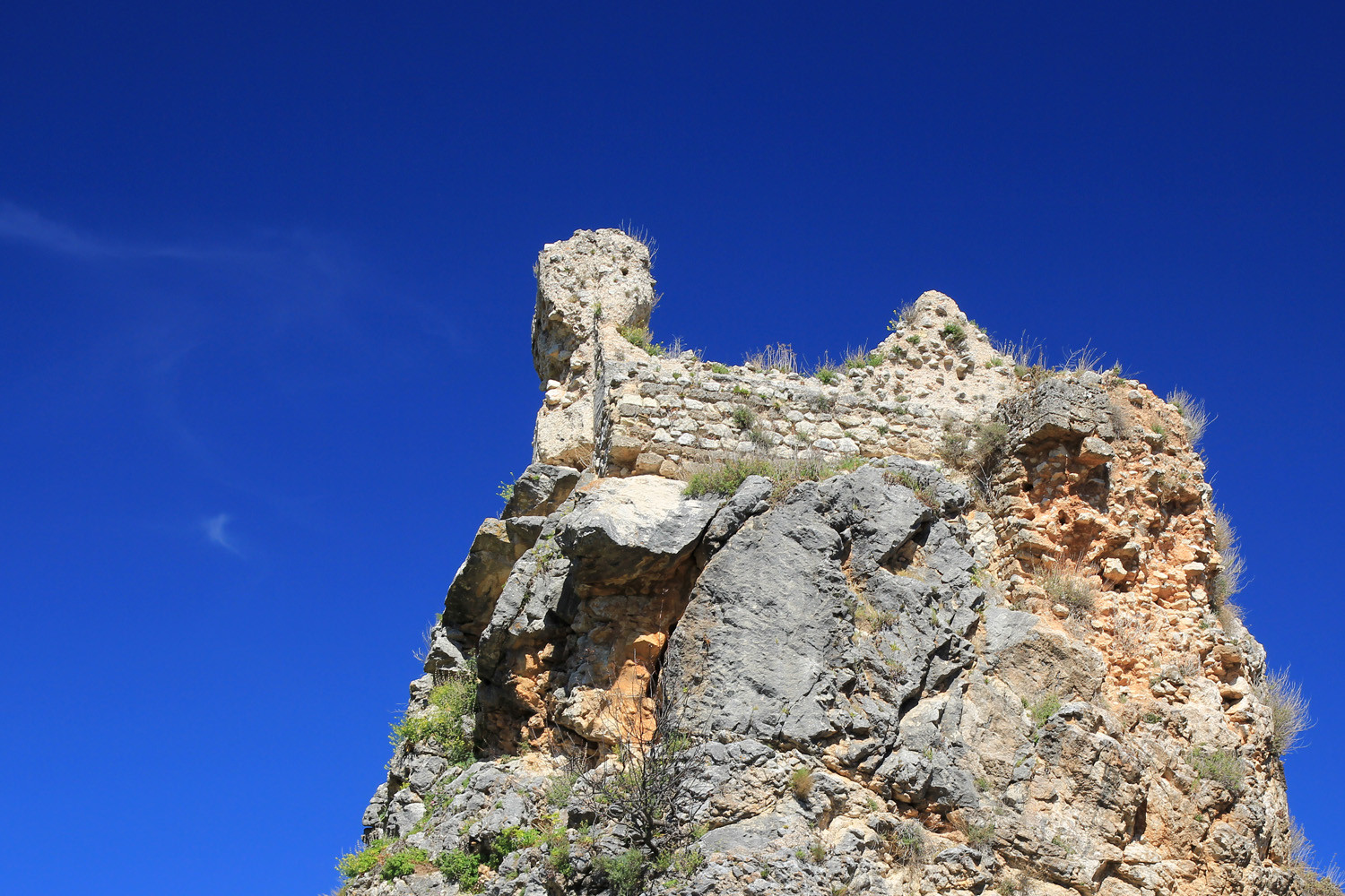 The Castle Ruins in Colomera