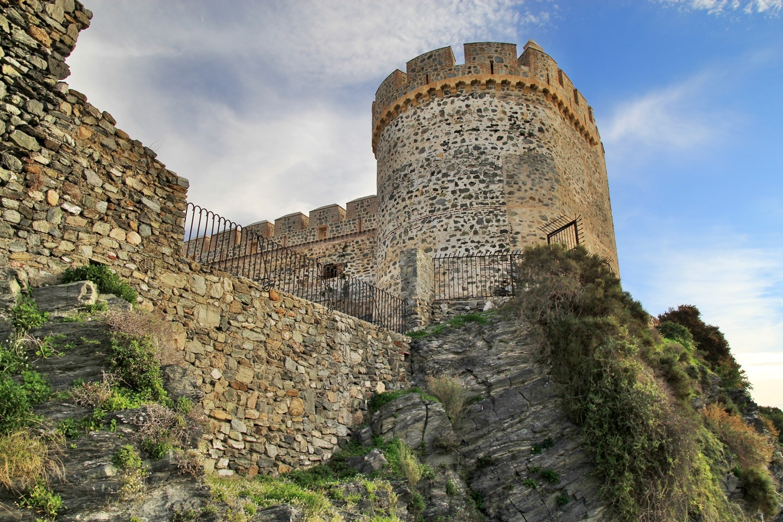 The  Arabic Castle of Almuñecar