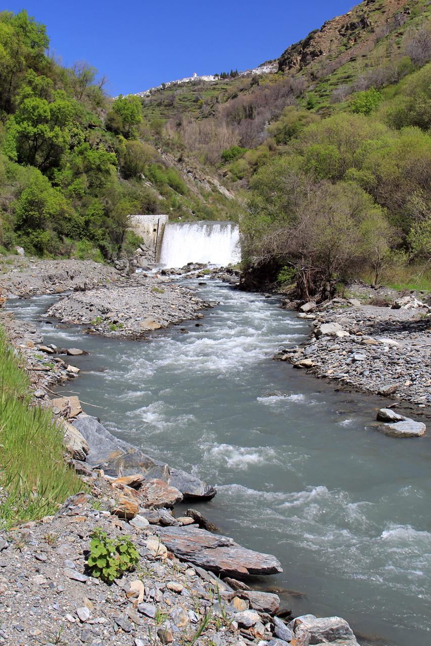 River Mulhácen near Pampaneira