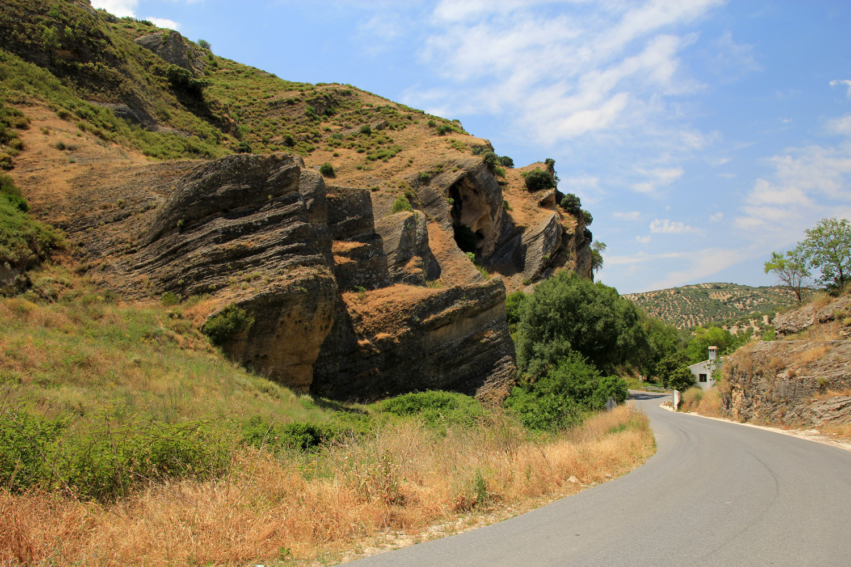 A Rock Formation near Montefrio