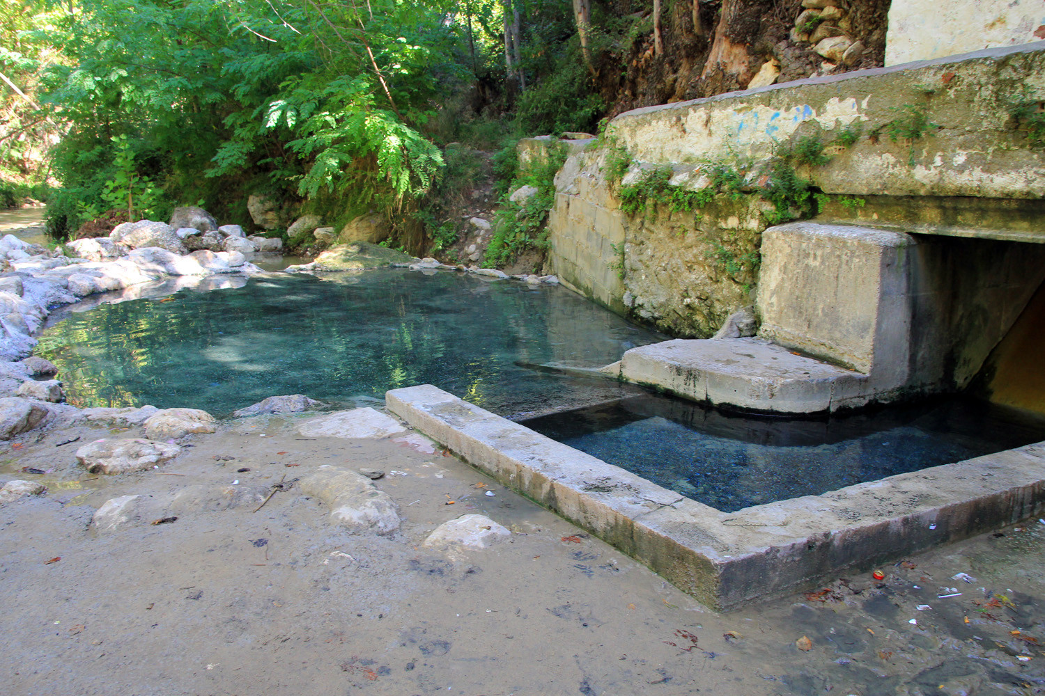The Termal Bath next to the Alhama River