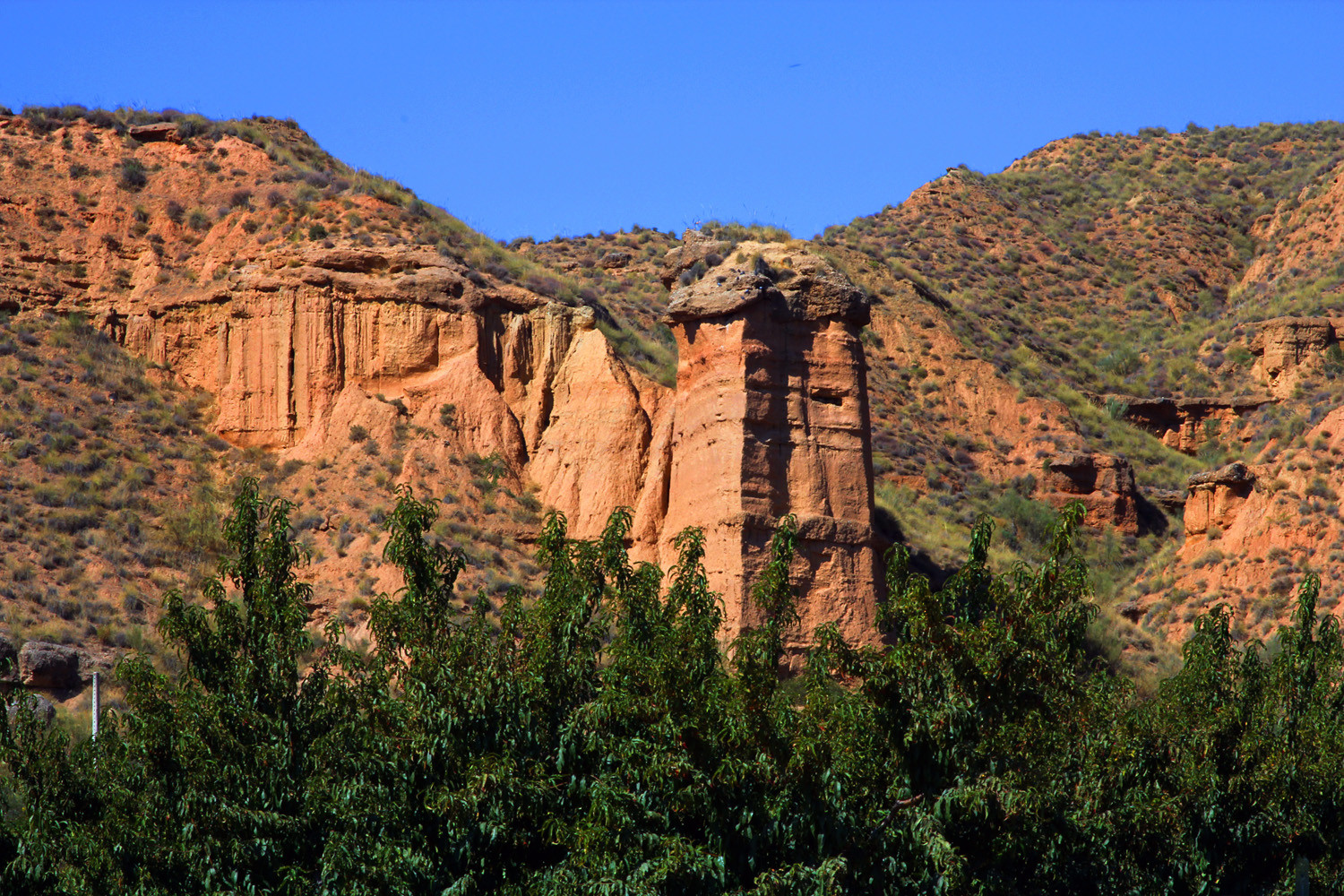 The Rock Formations of Guadix