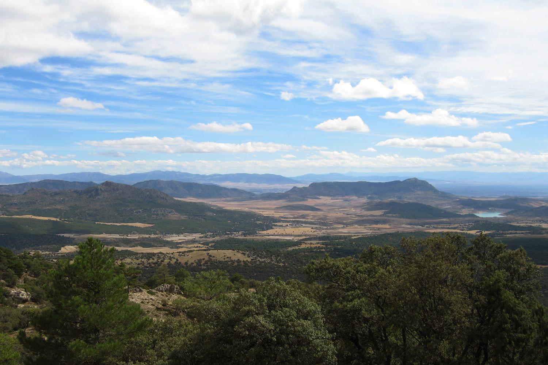 View from Sierra Seca