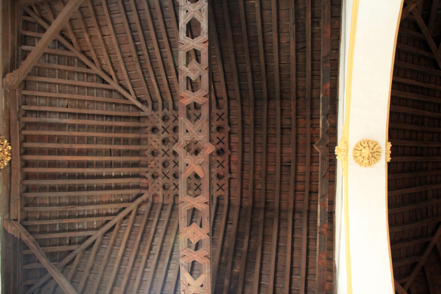 The Mudejar Ceiling of the Church of La Peza