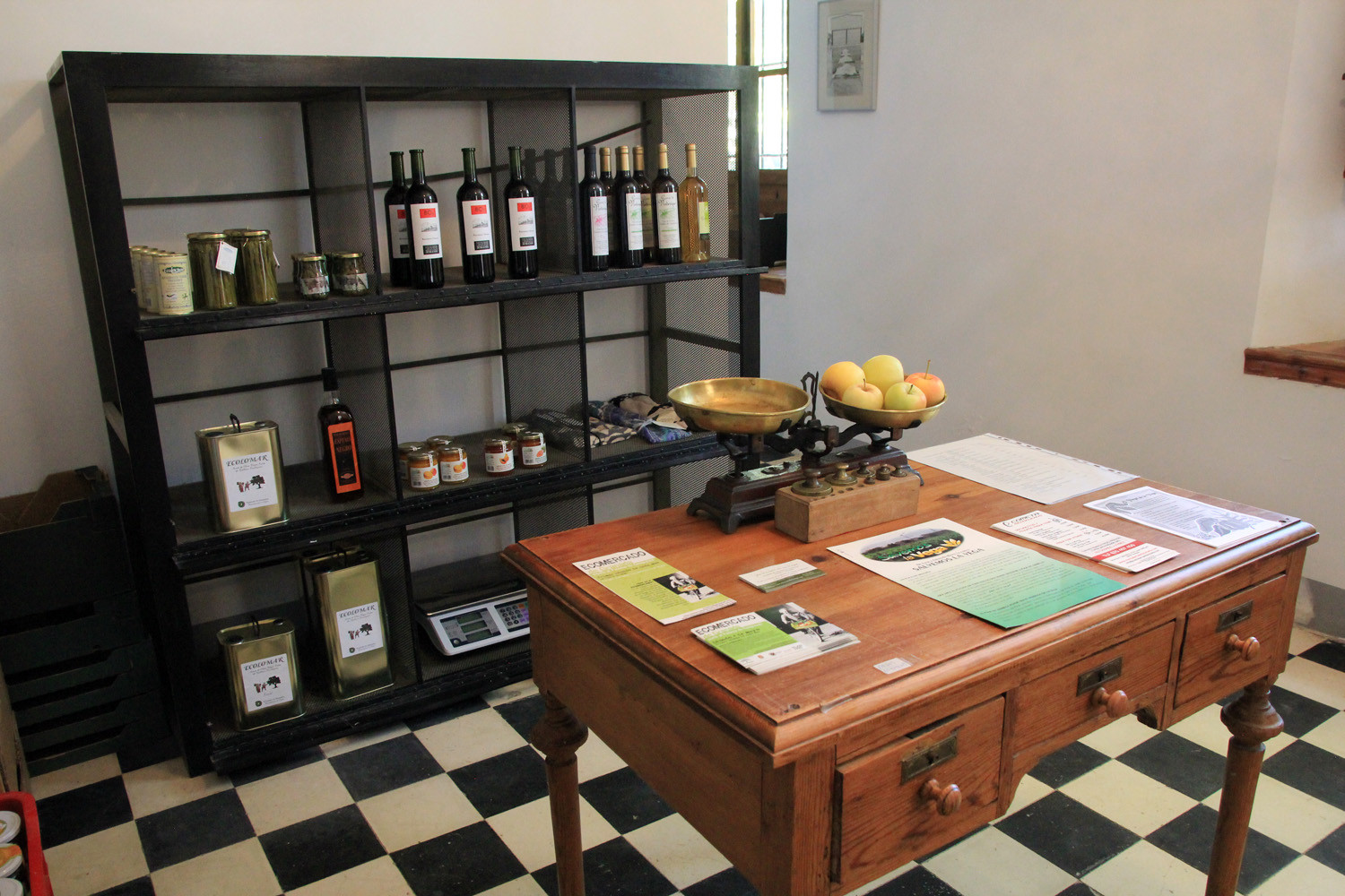 The ecologic shop with local products