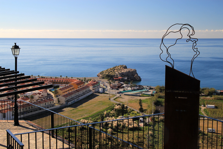 The View on the Coast of Salobreña
