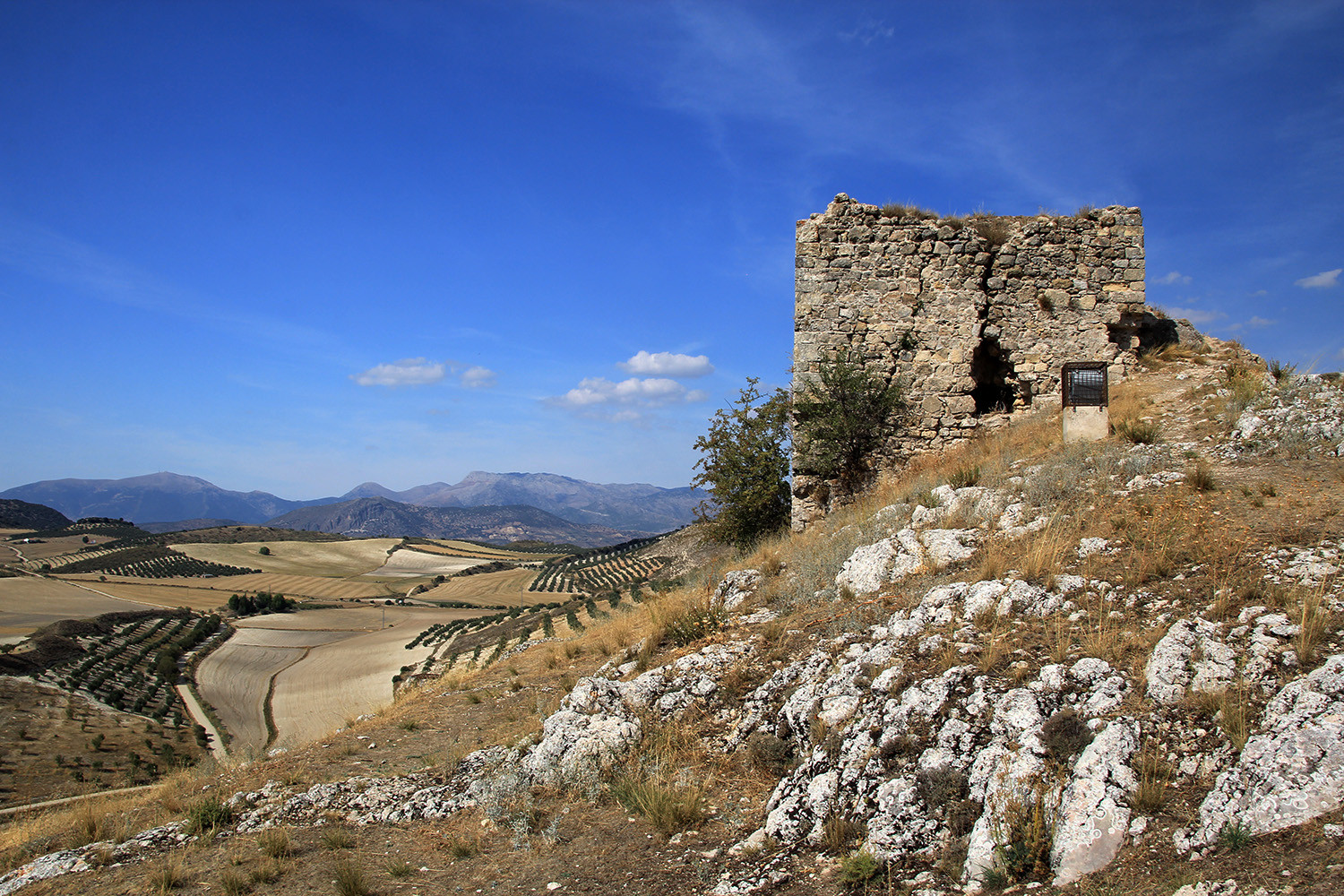The Castle Ruins of Montejícar