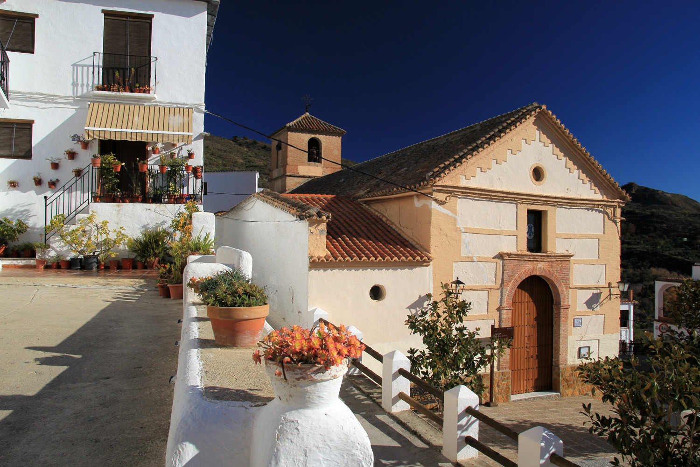 The Church of Mecina Alfahar