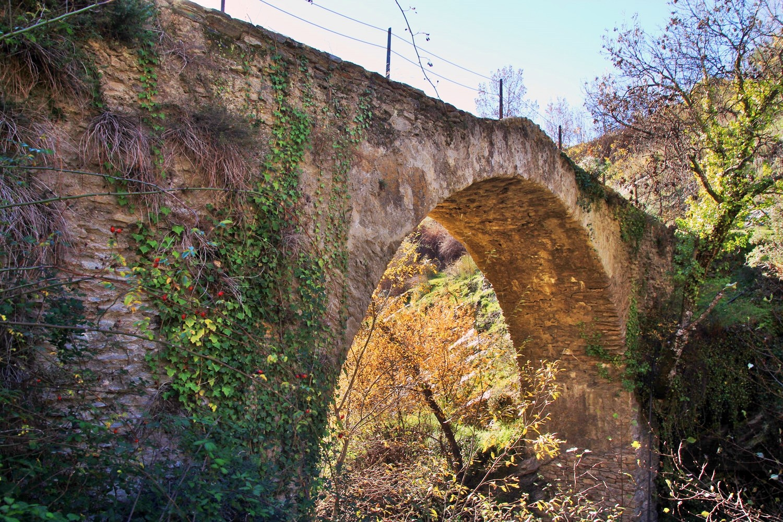 Roman Bridge in  in Mecina Bombarón