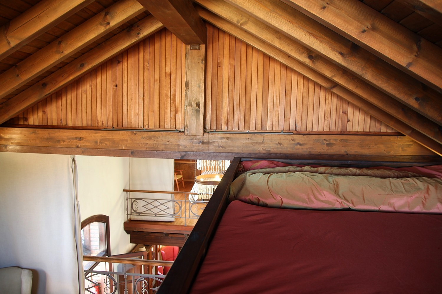 The loft in bedroom 2