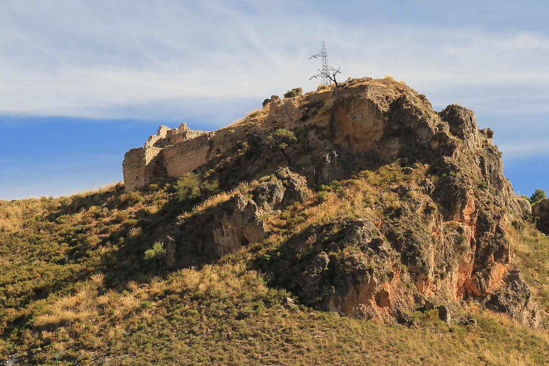 The Castle Ruins of Mondújar