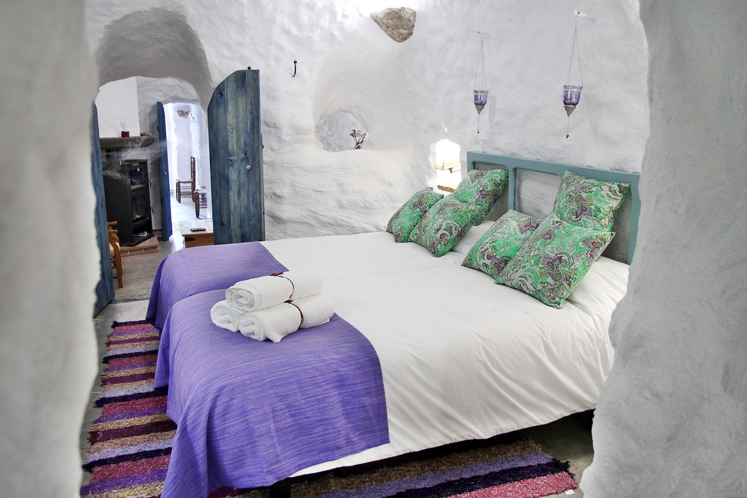 A Luxury Restored Cave House