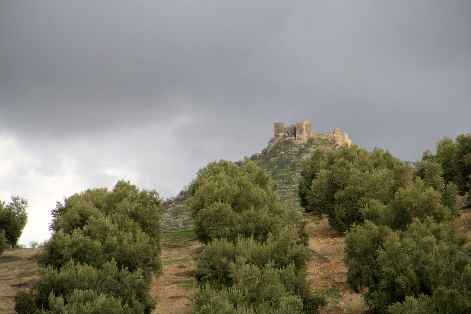 The Castle Ruins of Piñar