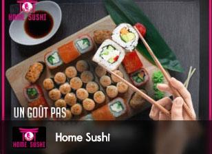 home sushi, sushi