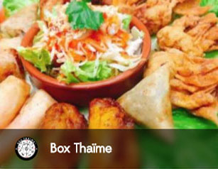 box thaime, thailandais