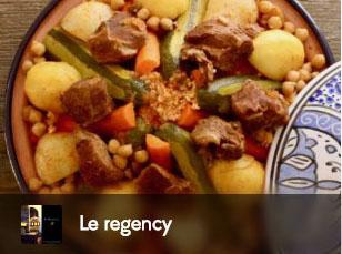 regency, couscous, tajine