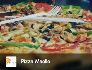 pizza maelle, pizza, panini