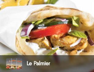 le palmier, nan, kebab, tacos