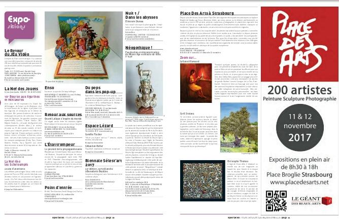 Magazine Novembre 2017 Spectacles et art de vivre à Strasbourg et environs