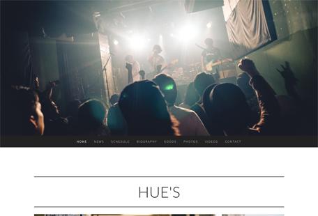 HUE'Sホームページ