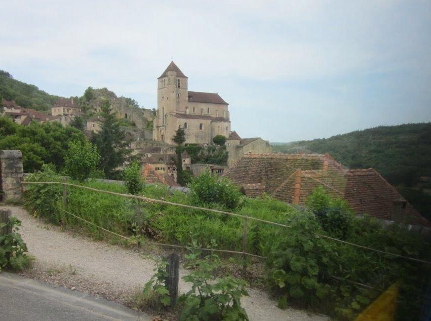 depuis la route, saint-Cirq la Popie