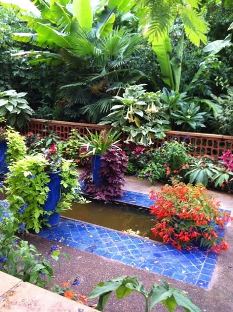 jardin mauresque à Cahors