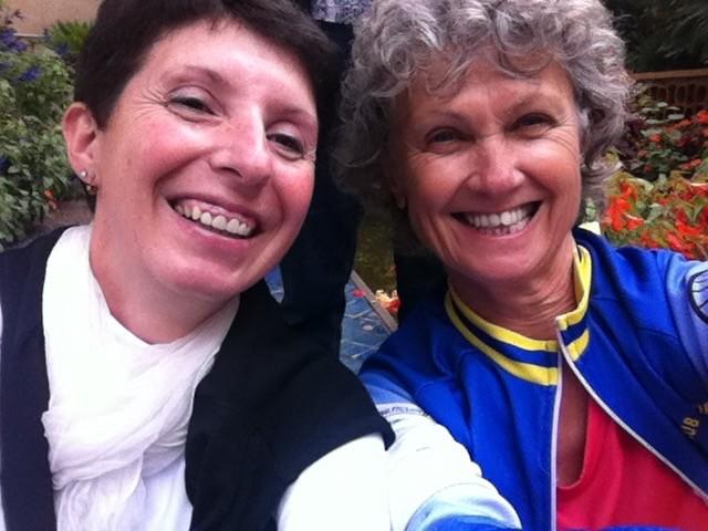 selfie Karine et Sylvie