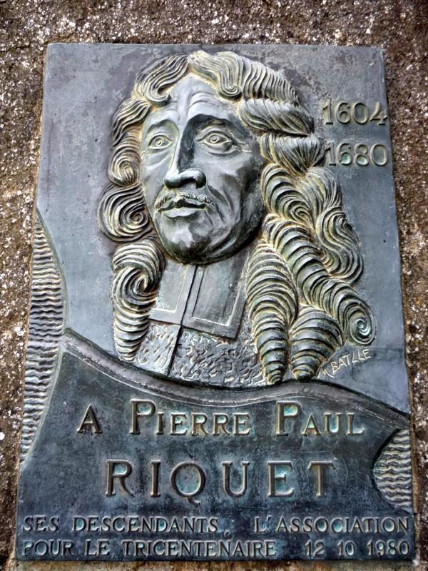 a tout seigneur tout honneur, Pierre Paul de Riquet maître d'oeuvre du Canal du Midi
