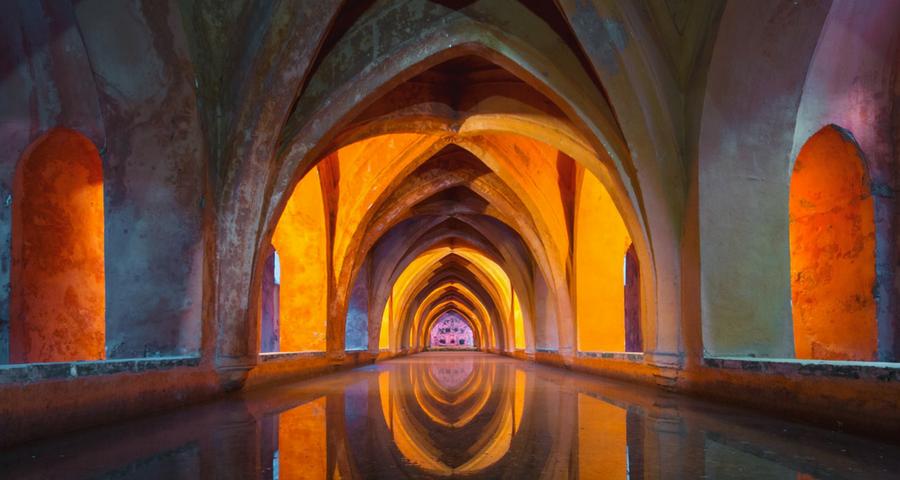 Tempel der tausend Spiegel