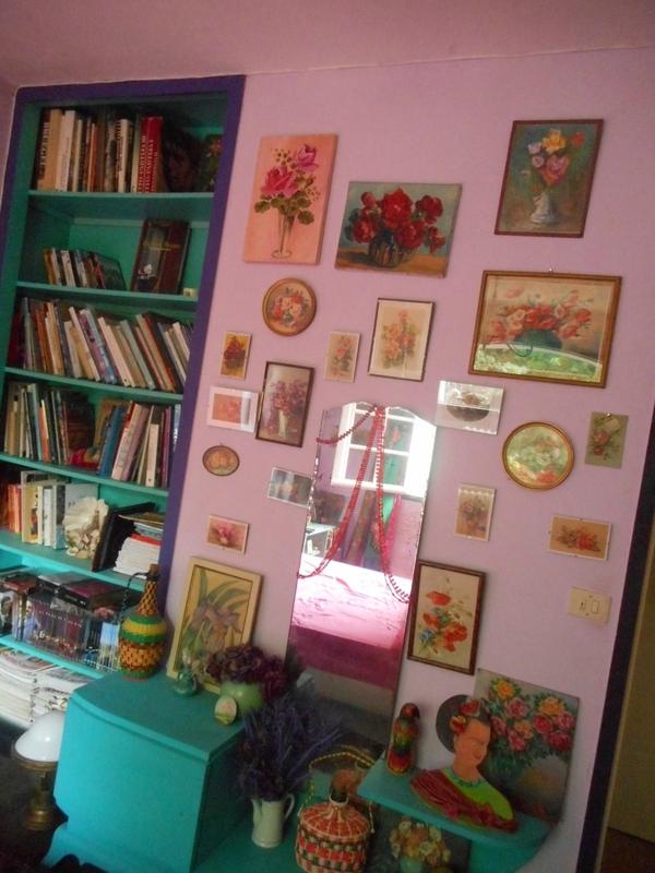 deco,chambre,couleurs,tableaux,babakitsch