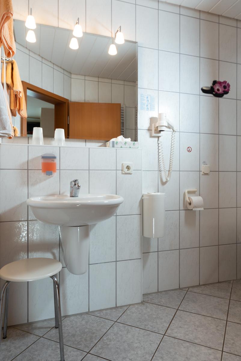 Beispiel-Bad im Gästehaus
