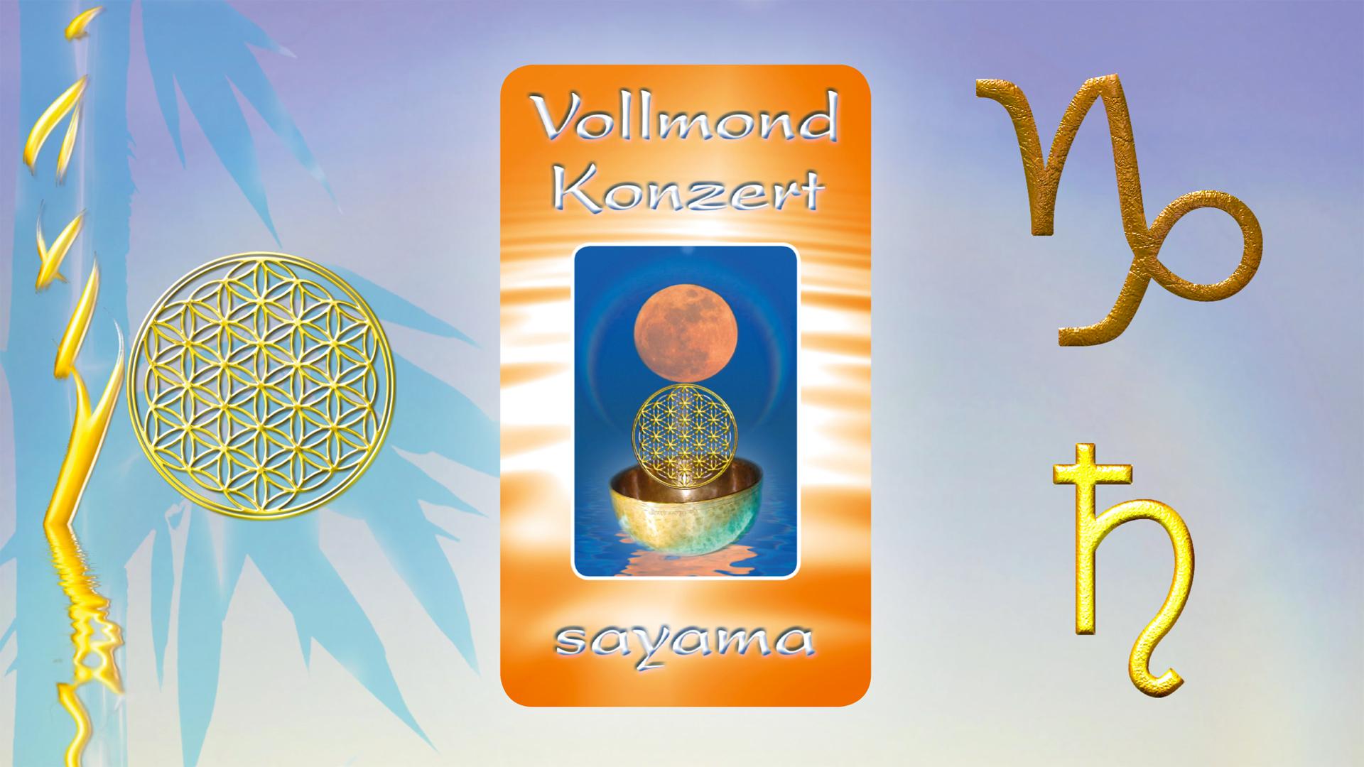 VollMond~Konzert am Johannistag im Sternzeichen Steinbock ~ Planet Saturn