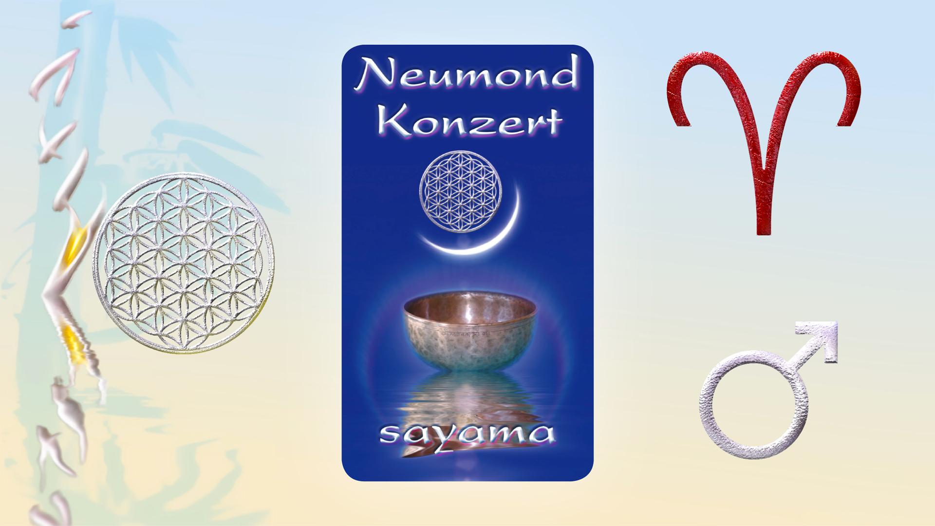 NeuMond~Konzert im Zeichen Widder -  Planet Mars