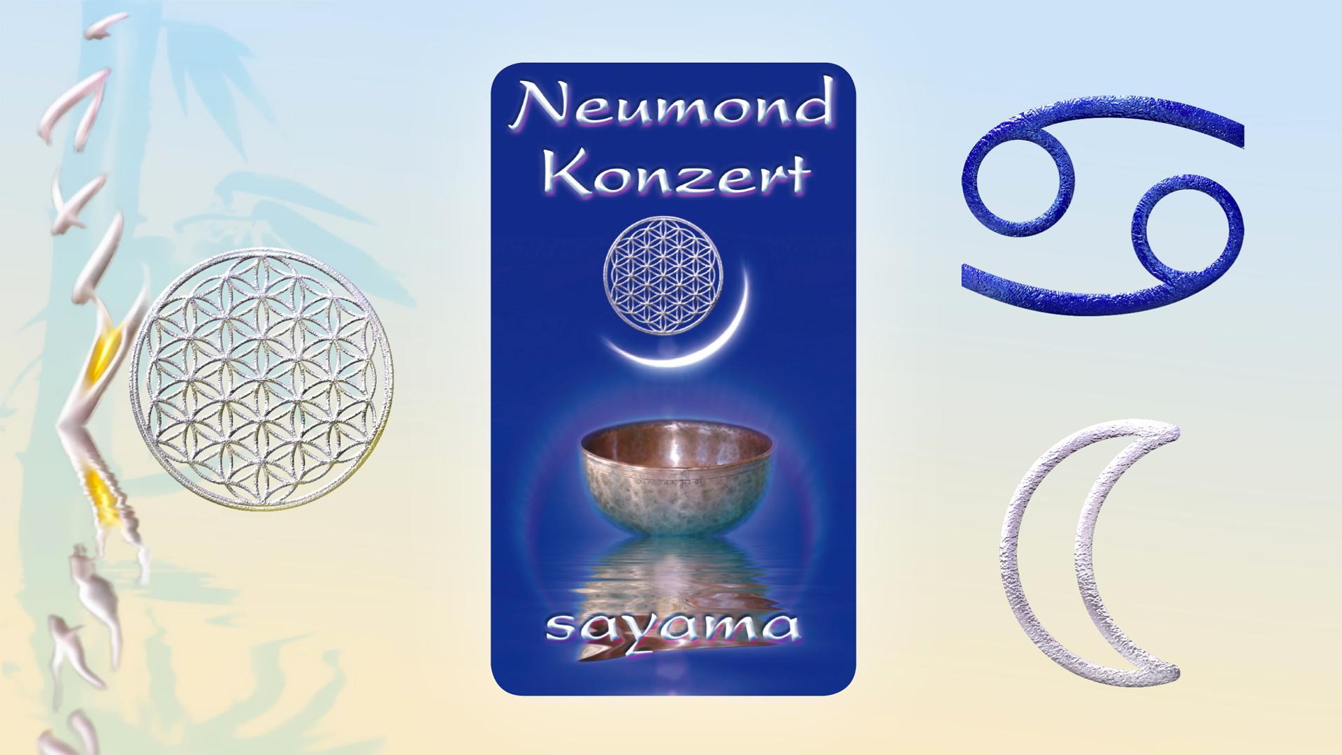 NeuMond~Konzert im Zeichen Krebs -  Mondenergie pur