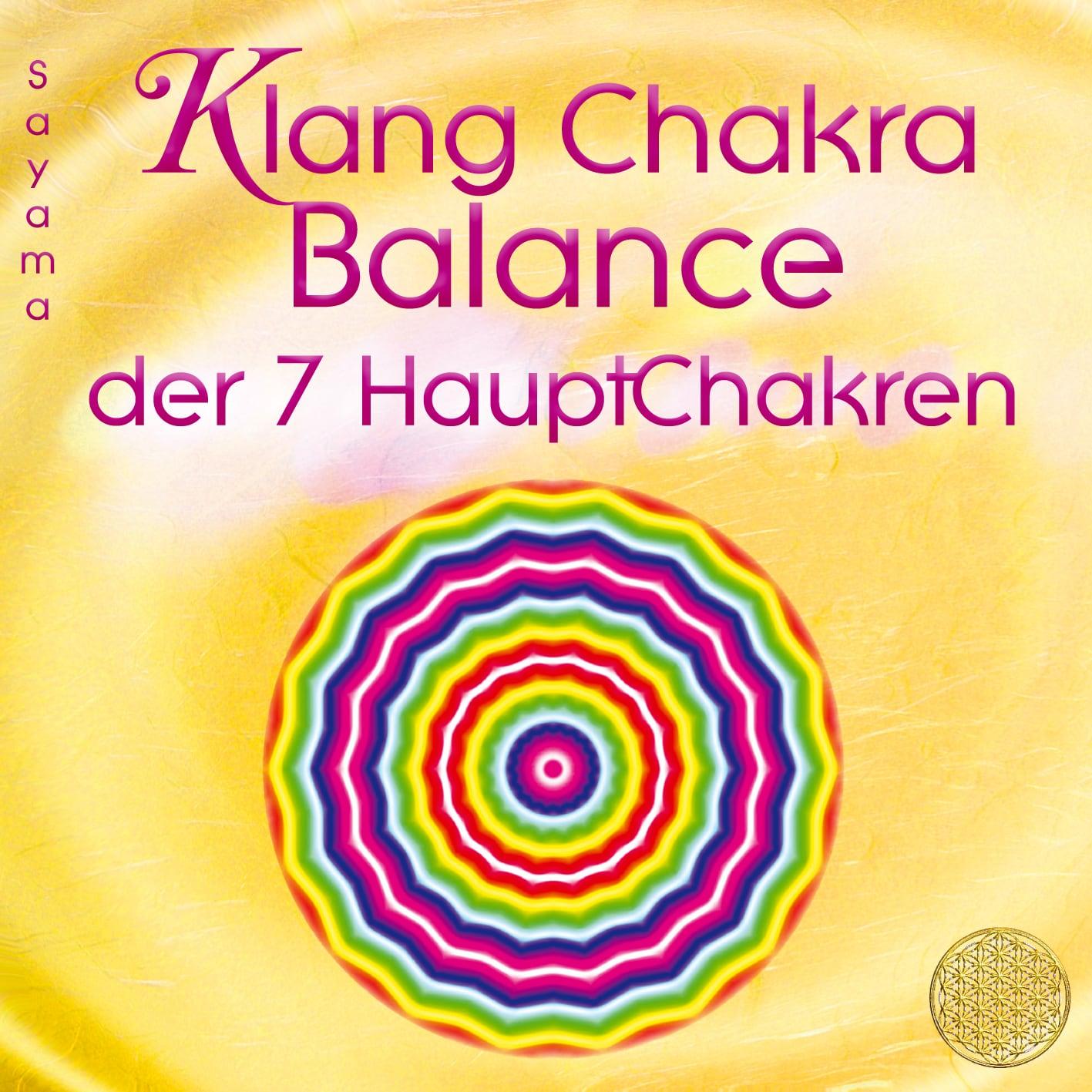 "Neues Album ""Klang Chakra Balance"""