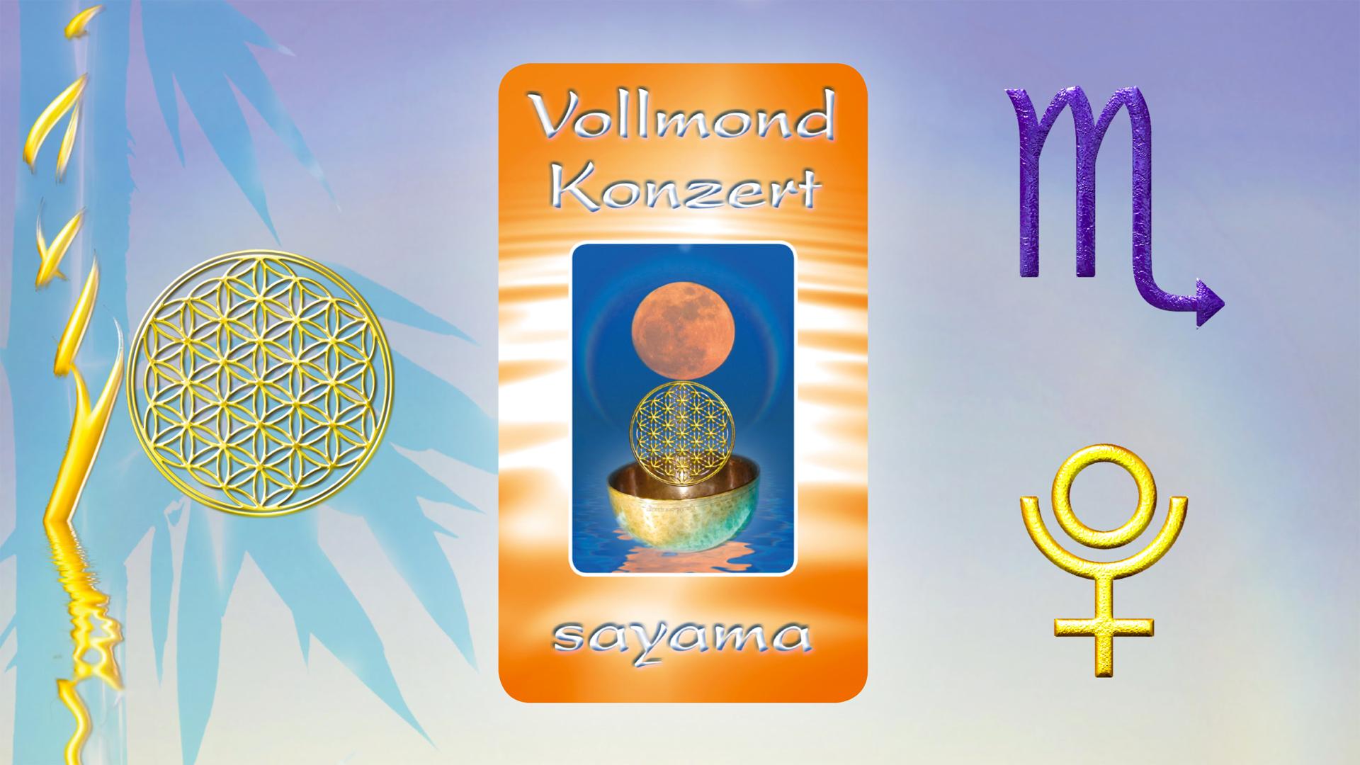 VollMond~Konzert im Zeichen Skorpion -  Planet Pluto