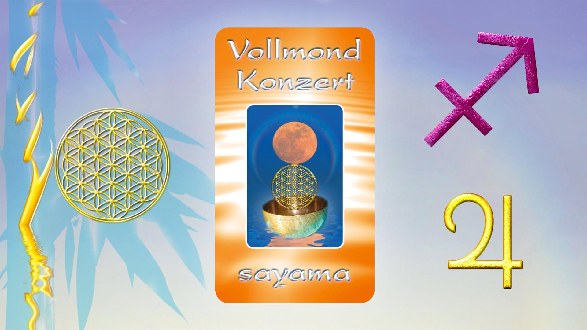 VollMond~Konzert zum Wesak Fest im Mai 2021 - Sternzeichen Schütze ~ Planet Jupiter