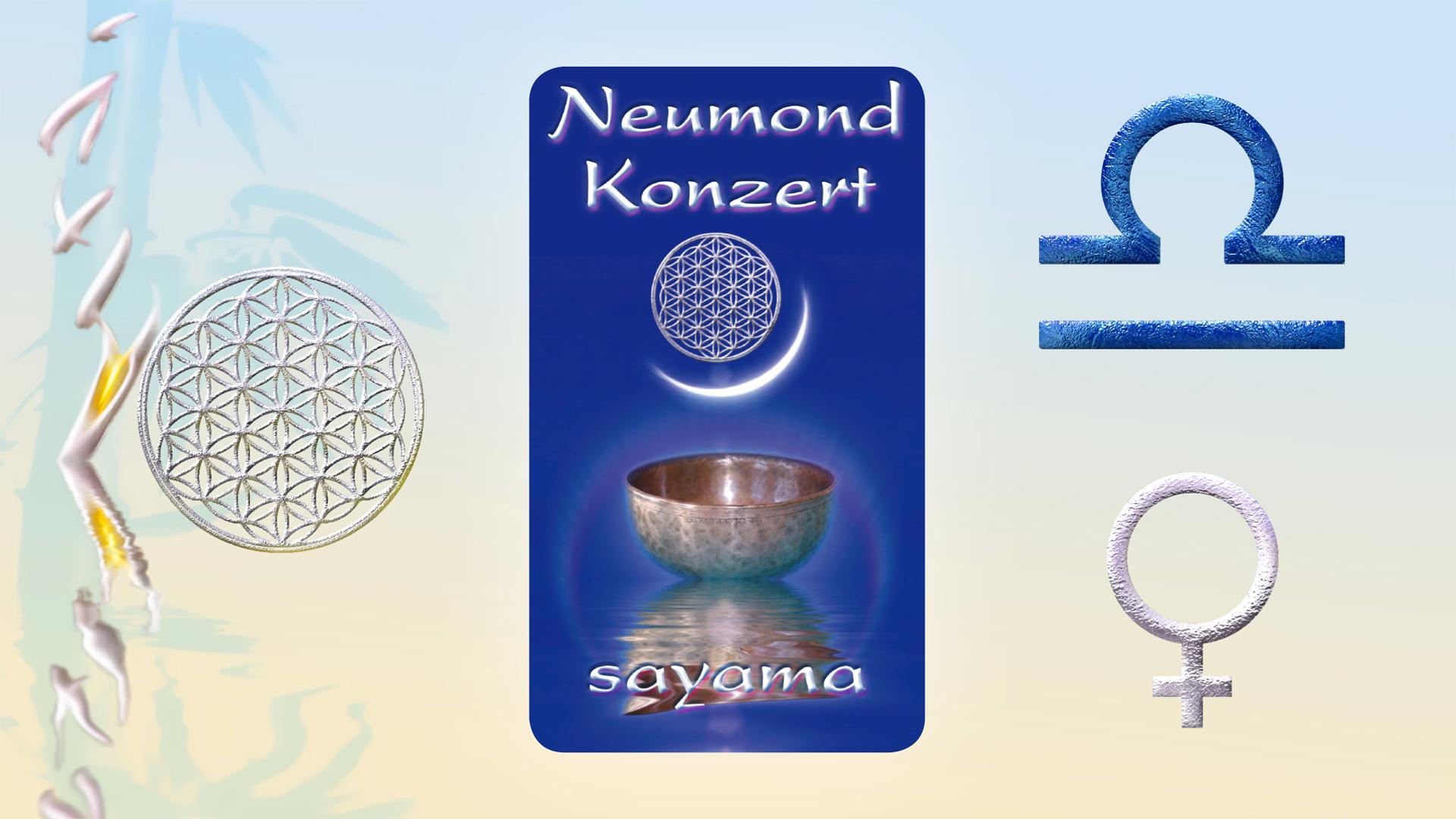 NeuMond~Konzert im Zeichen Waage - Planet Venus