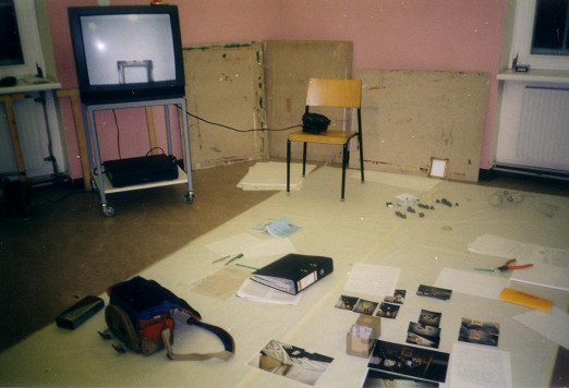 """Workspace, """"Art and Therapy"""", 1996"""