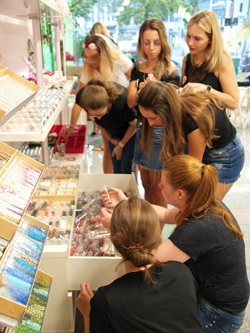 Perlenladen Düsseldorf ELA EIS Workshop