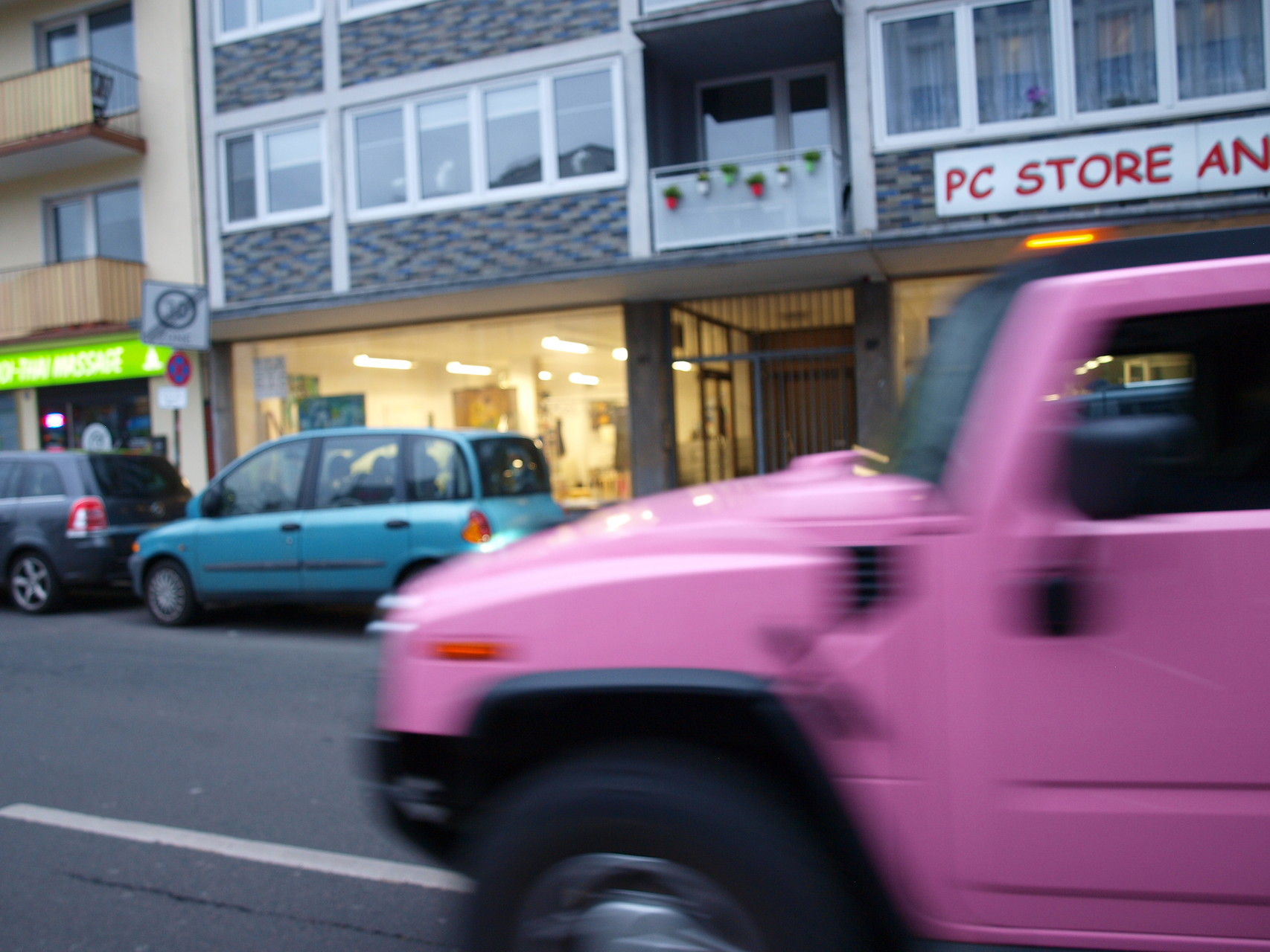 ELA EIS Teenagergeburtstag Junggesellinnenabschied Pink Party Limousine